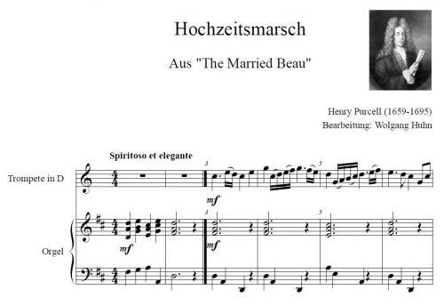 Purcell Hochzeitsmarsch